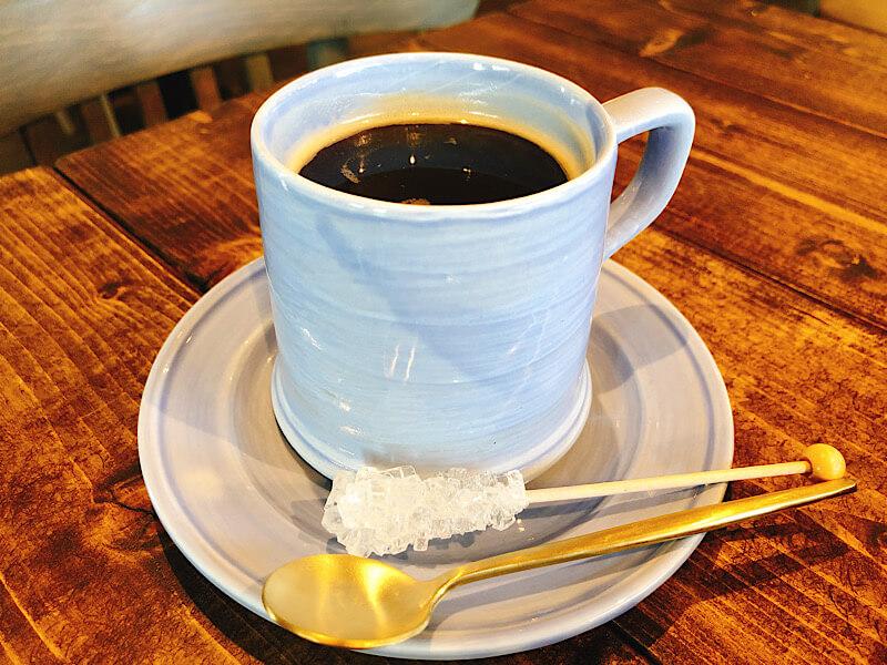 ムスタッシュのコーヒー