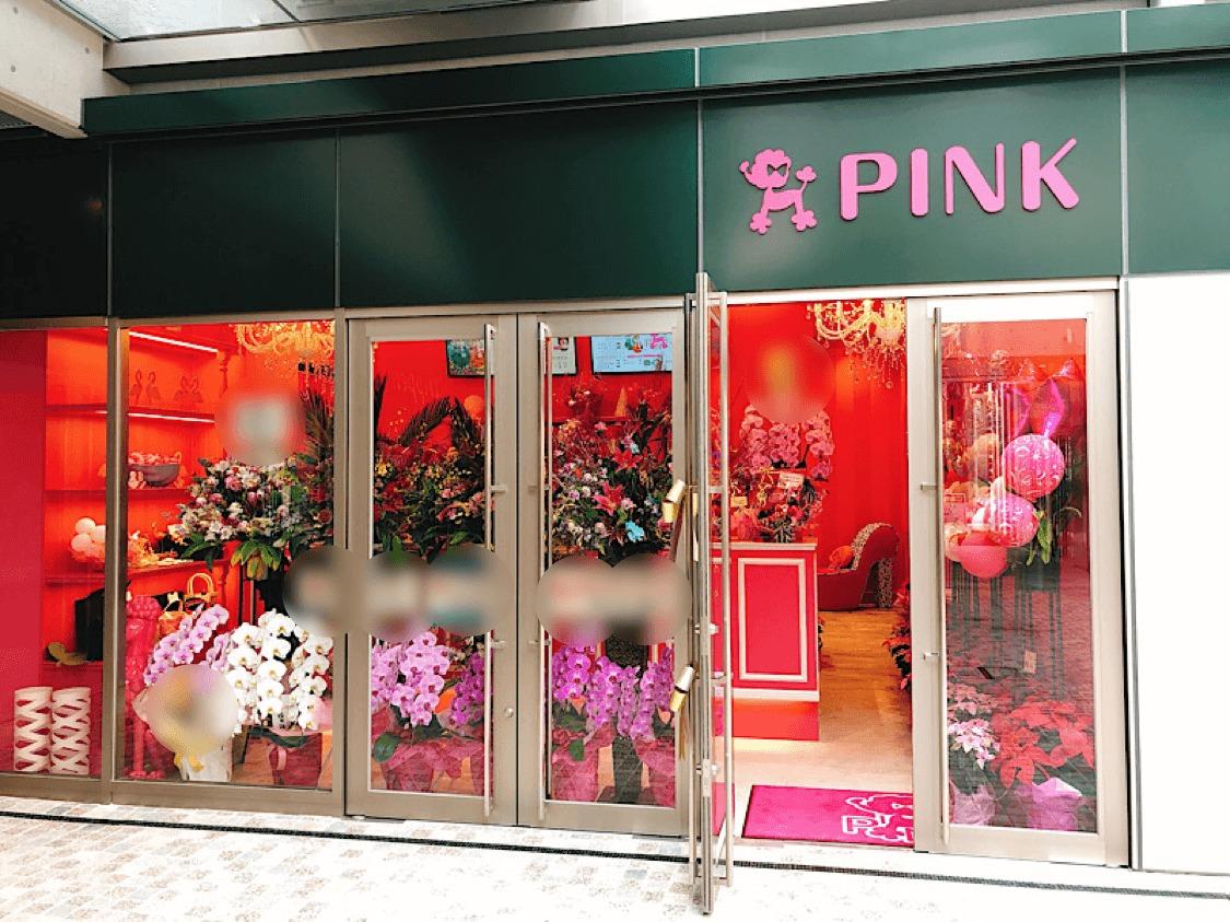 ピンクの外観