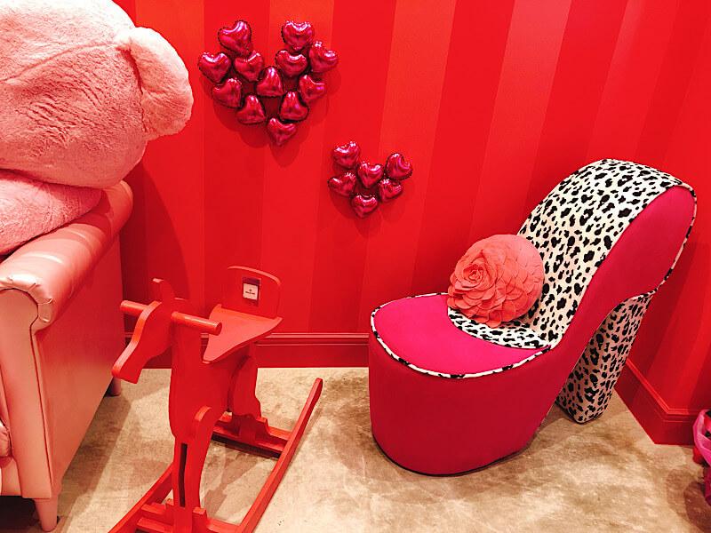 ピンクのフォトスポット