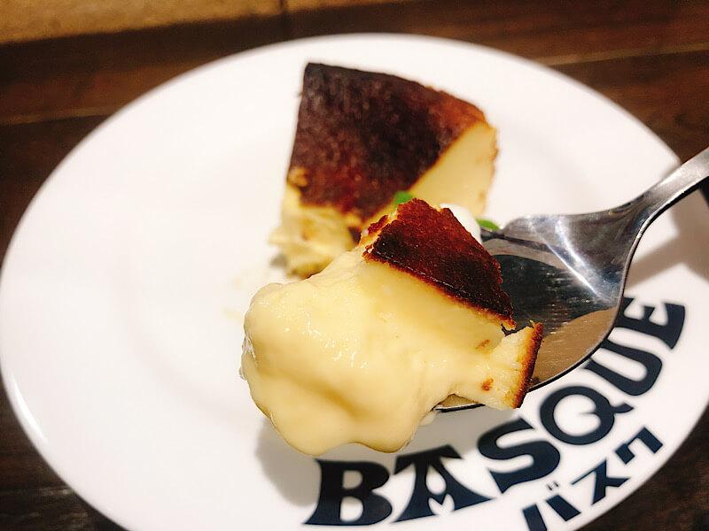 バルバスクのバスクチーズケーキ