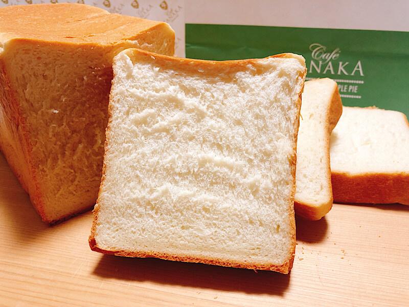 カフェタナカの食パン