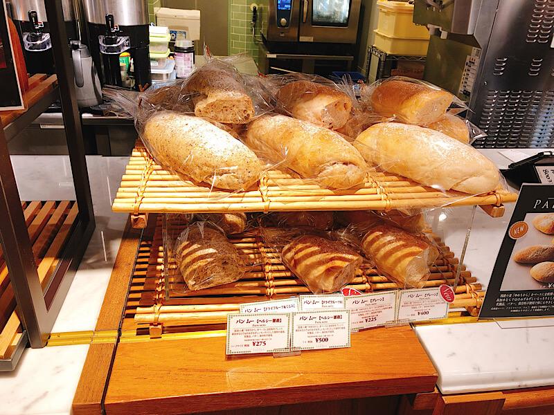 カフェタナカのパン