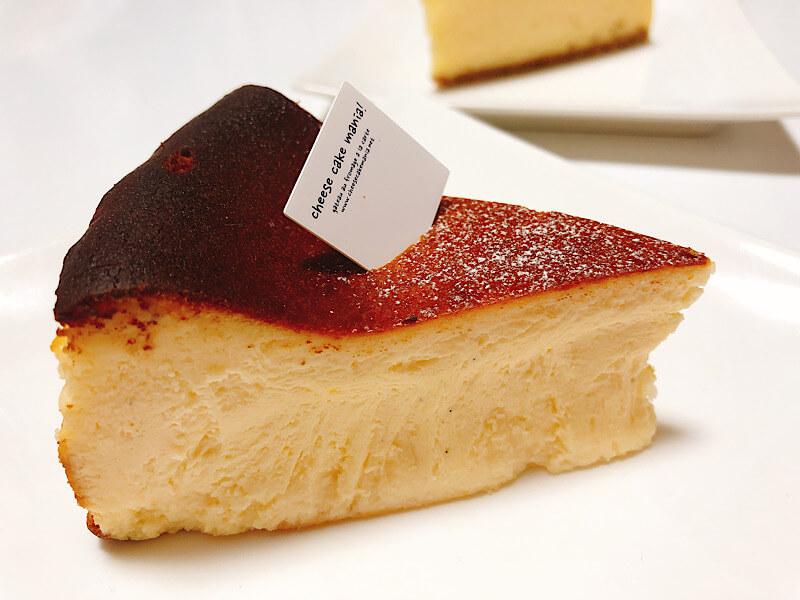 チーズケーキマニアのバスクチーズケーキ