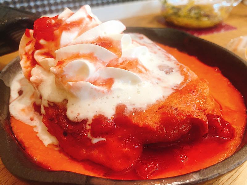 ファータデルテのいちごフレンチトースト