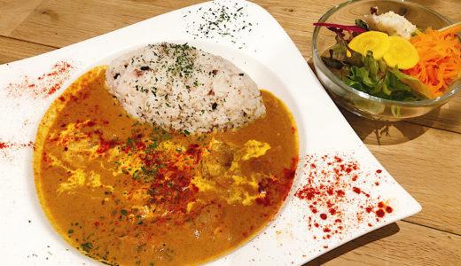 名古屋金山駅すぐマリカフェのスパイスカレーが美味しい!