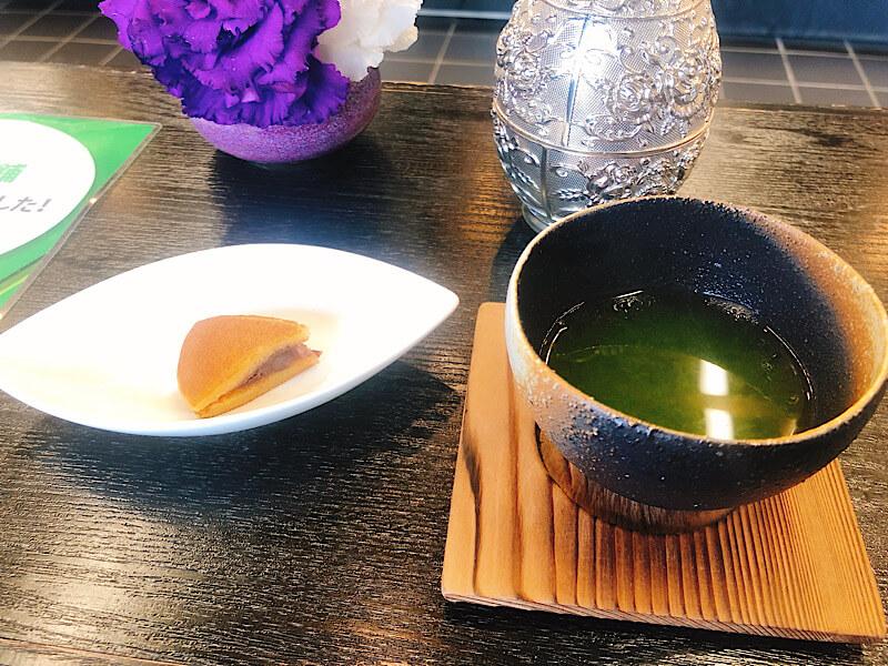 近江屋本舗のお抹茶