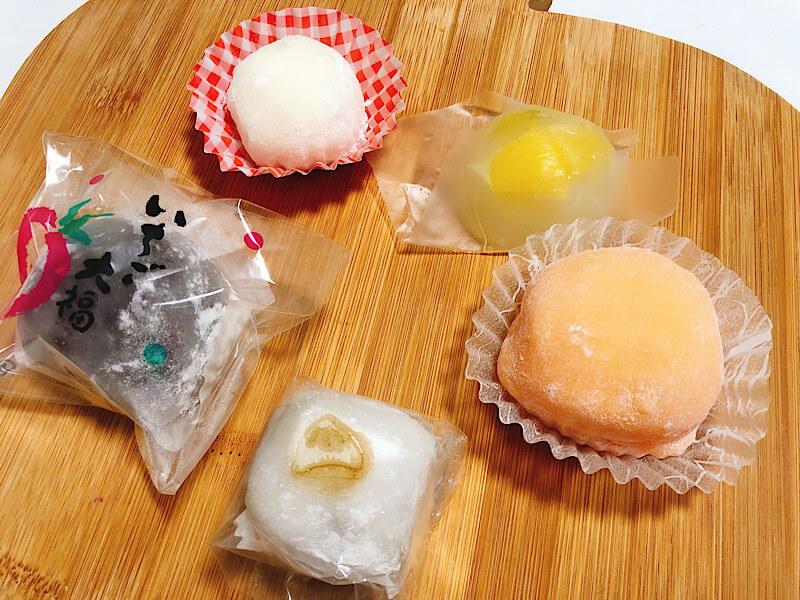近江屋本舗の和菓子
