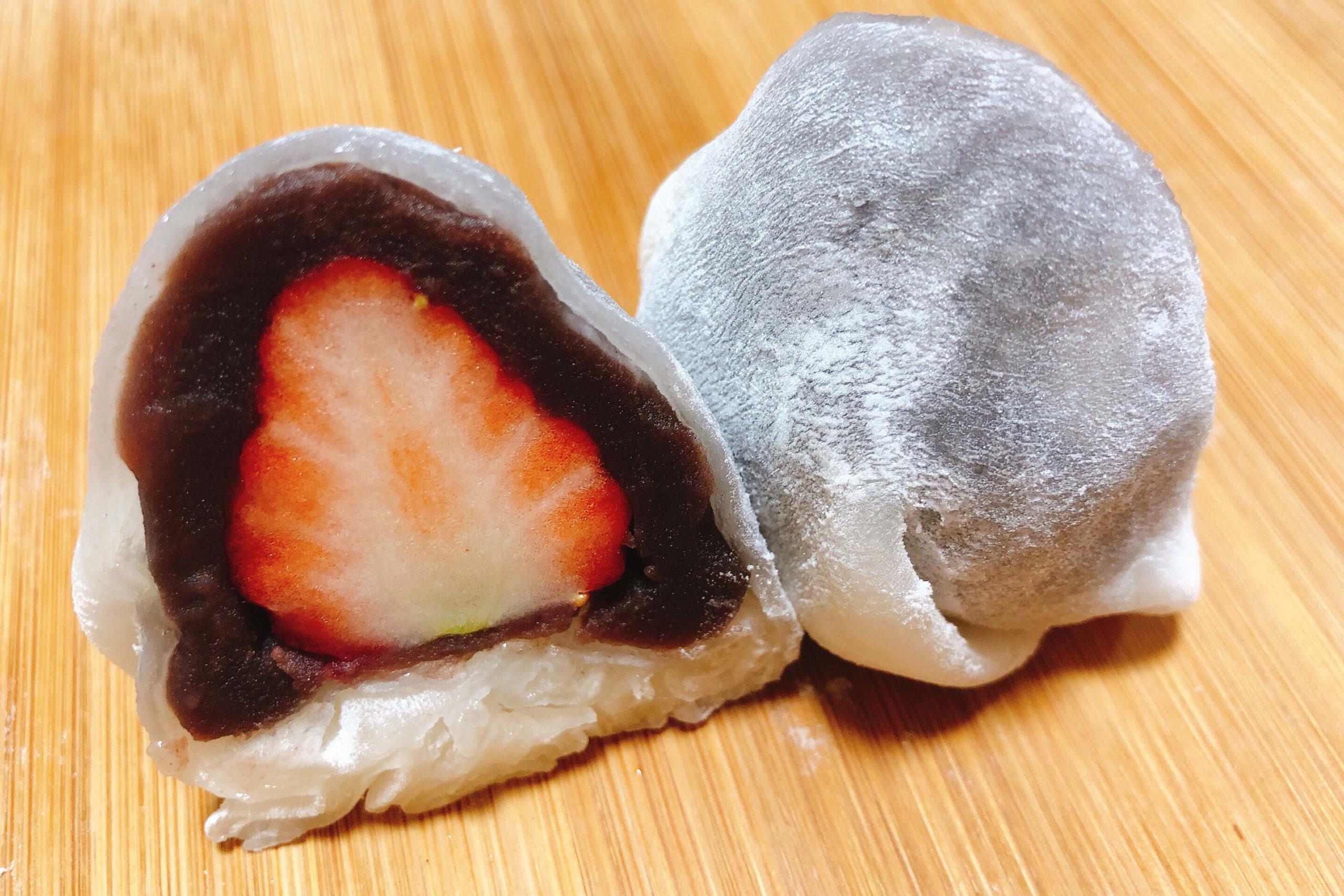 カフェオープンのフルーツ大福