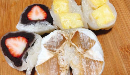 愛知県幸田カフェオープンでフルーツ大福の販売を開始