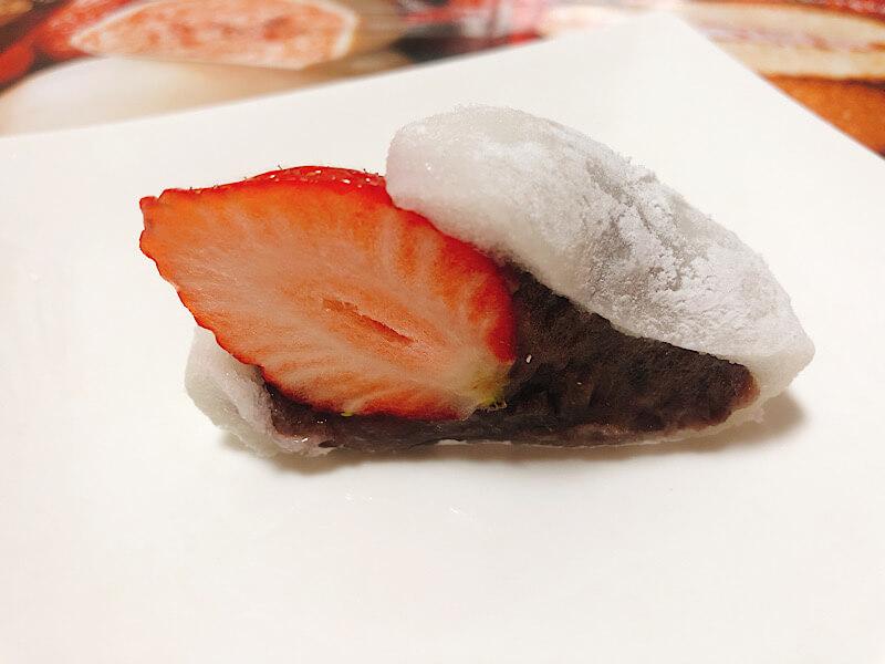 シャトレーゼの苺大福