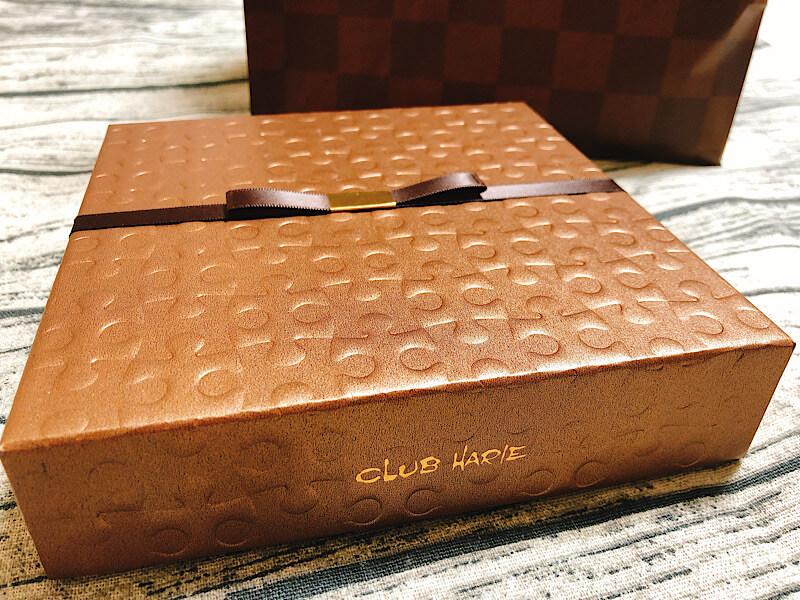 クラブハリエのハートチョコブラウニー