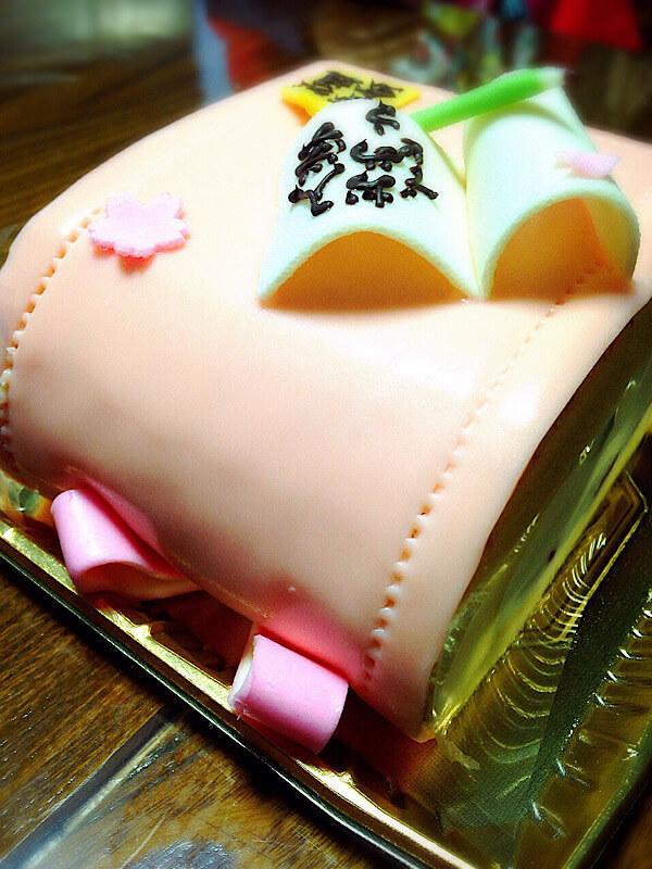 亀屋芳広のランドセルケーキ