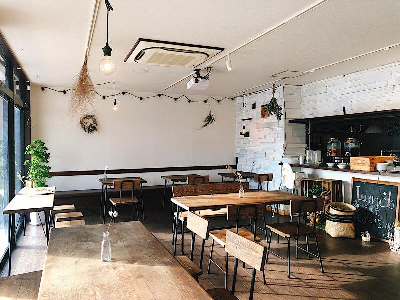 towacafeの内観