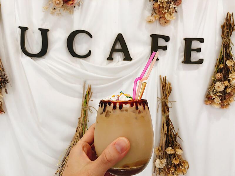 ユーカフェのカフェラテ