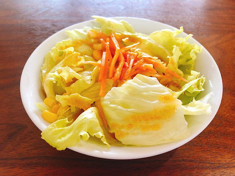 バーガーハウスガブリのサラダ