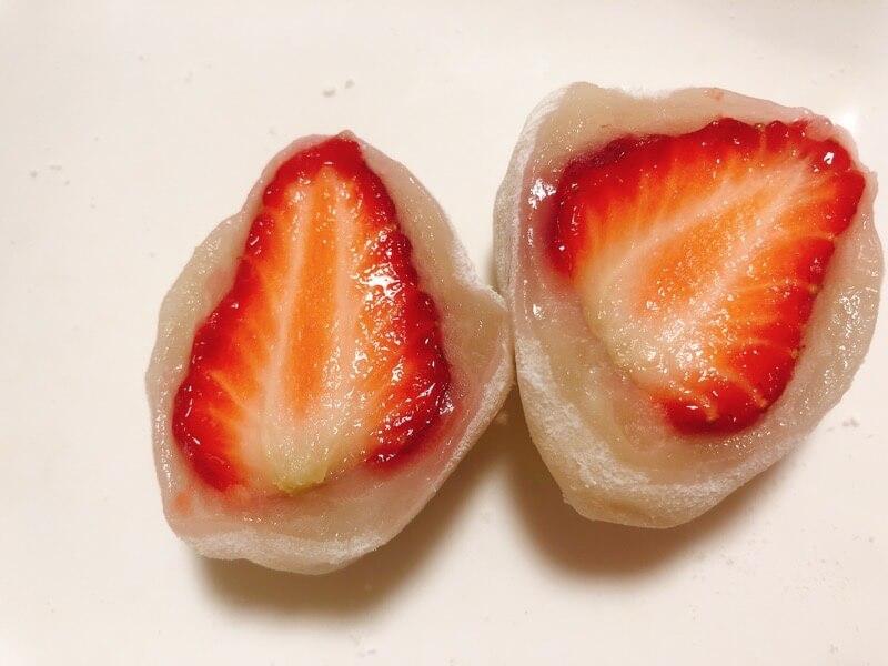 弁才天のフルーツ大福いちご