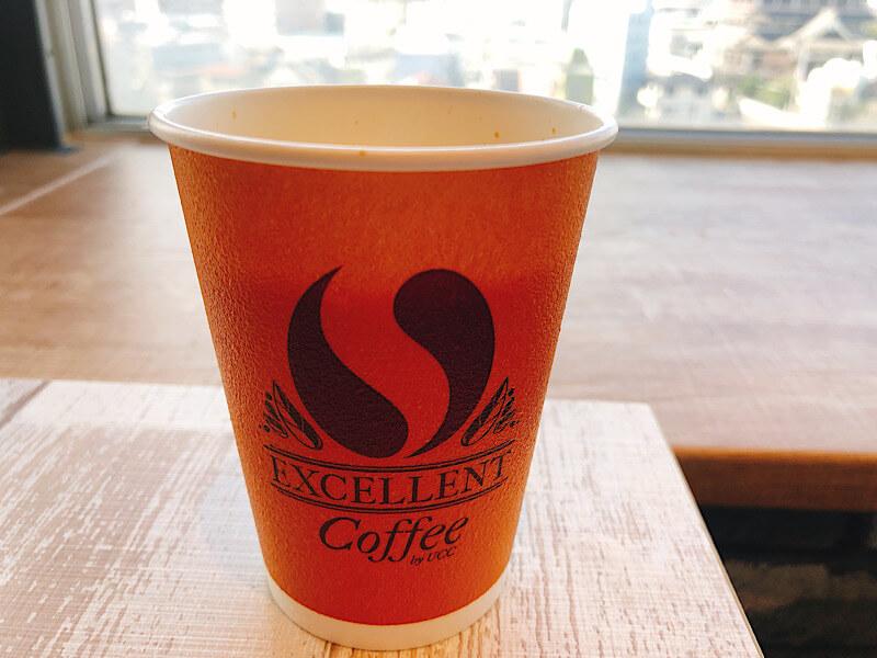 M'sパスタのカフェラテ