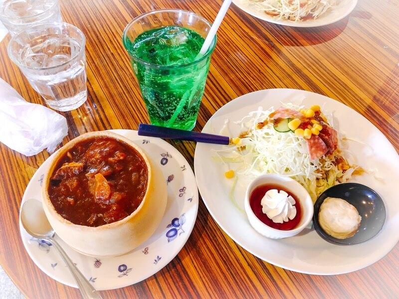 一宮 ココロカフェのスペシャルモーニング(ハヤシ)