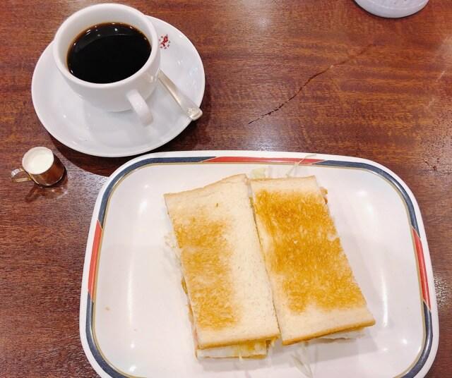 コンパル メイチカ店(名古屋駅)のモーニングセット