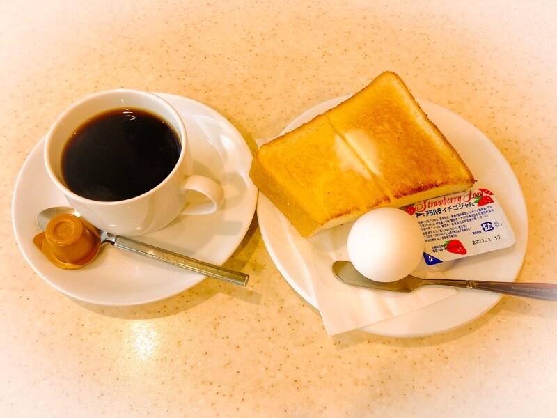 名古屋駅むらやまのモーニングセット