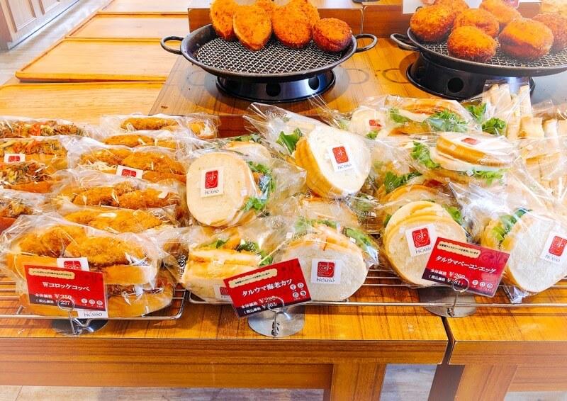 picasso(ピカソ)烏森本店の惣菜パン