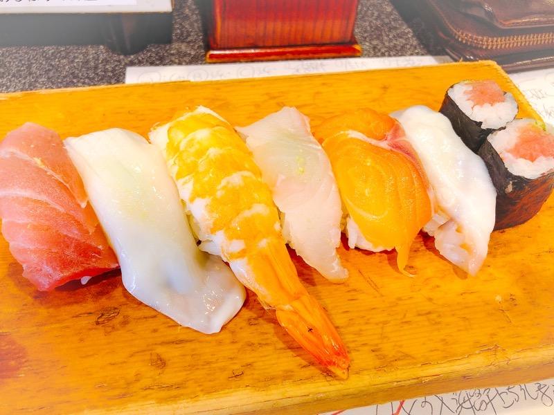 名古屋 千寿(せんじゅ) 寿司7巻