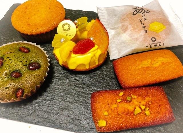 YUWAI(ゆわい)の洋菓子