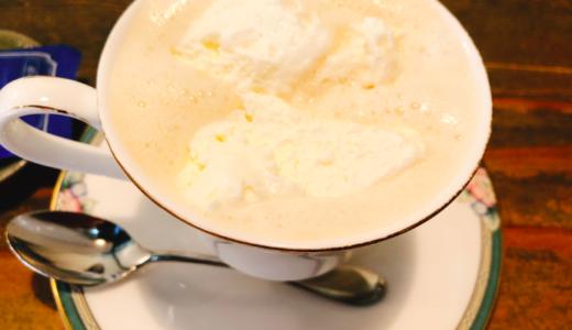 (日進)珈琲屋明楽時運(アラジン)蔵や」は日本家屋の喫茶店。ウインナーコーヒーが絶品!