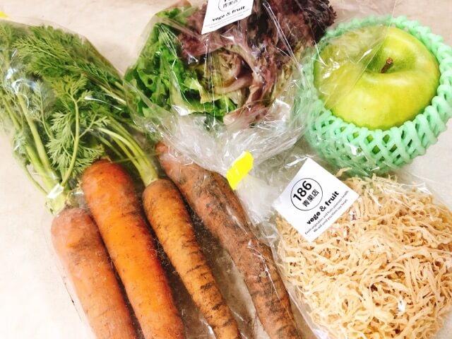 186青果店の野菜