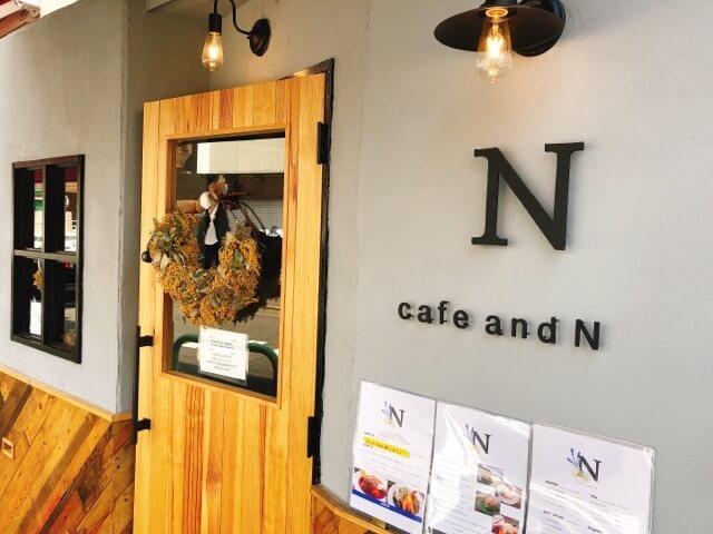 cafe&Nの内観