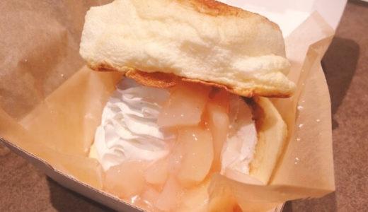 (栄セントラルパーク)lightcafe(ライトカフェ)のパンケーキバーガーが美味しい!