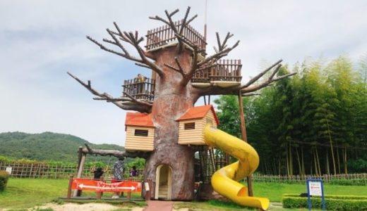 小牧市民四季の森が遊具が充実していて子供も喜ぶ!