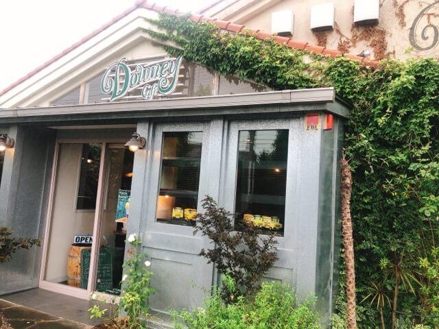 ダウニーCafe Downey神の倉店の外観