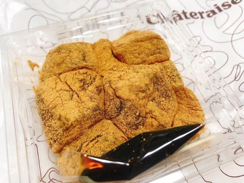 シャトレーゼのわらび餅