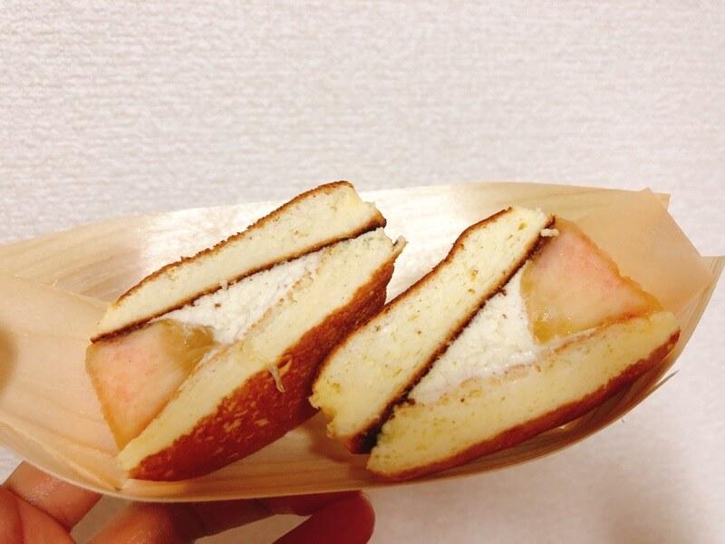 こびとぱんの桃サンド