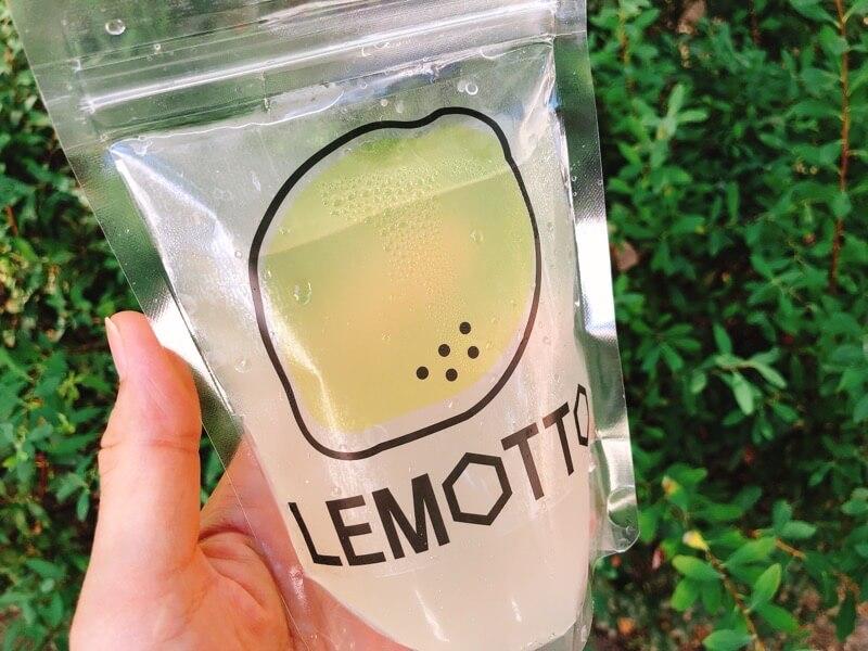 lemottoの生絞りレモネード