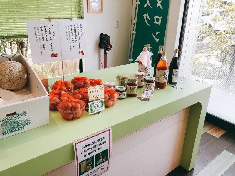 横山農園の直売所