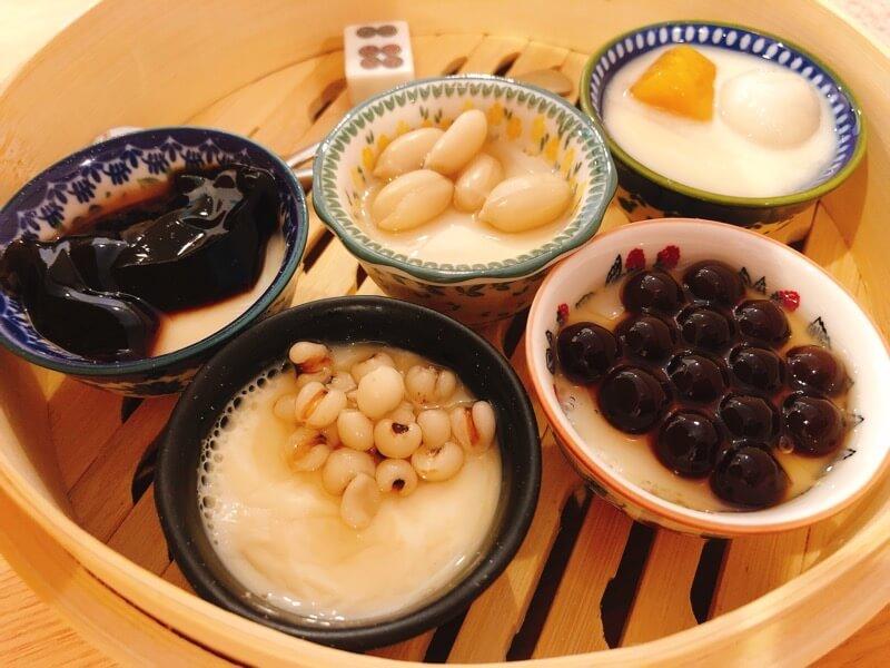 好日茶楼グッデイチャロの台湾フルーツ豆花の食べ放題