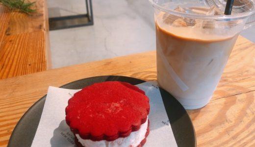 栄『サタデーズサーフニューヨークシティNYC』名古屋店 のオレオクッキーサンドが可愛い。