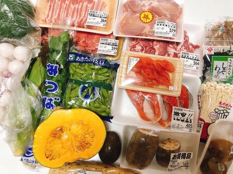 八百鮮の野菜