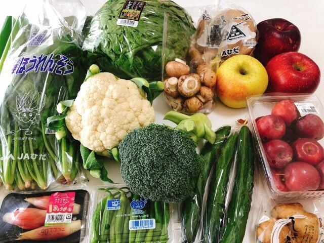 カネ井青果 セントラルパーク店の野菜