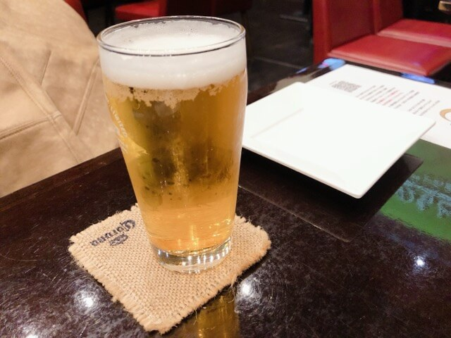 スペインバル REGOLITHのビール