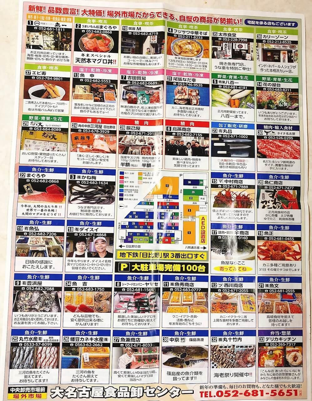 大名古屋食品卸センター(場外市場)