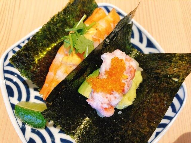 寿司と串とわたくし すしサンド
