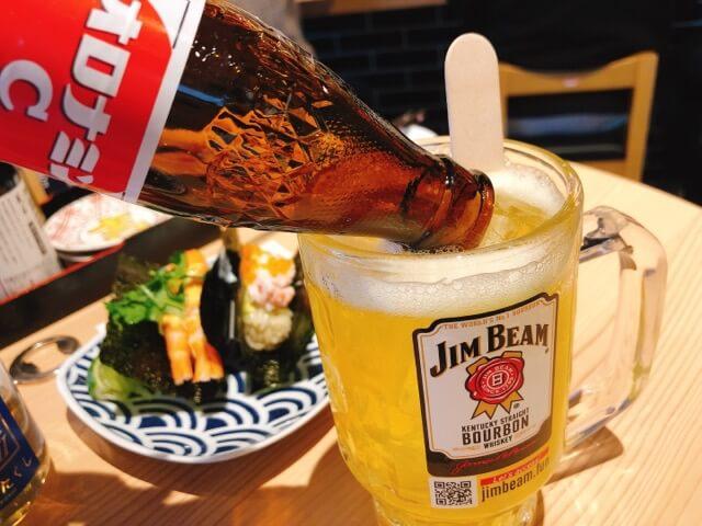 寿司と串とわたくし オロナミンCサワー