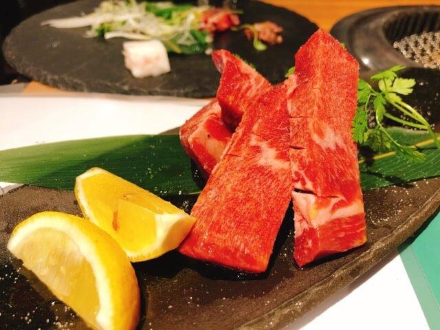 肉卸直送焼肉たいが錦店の牛塩タン