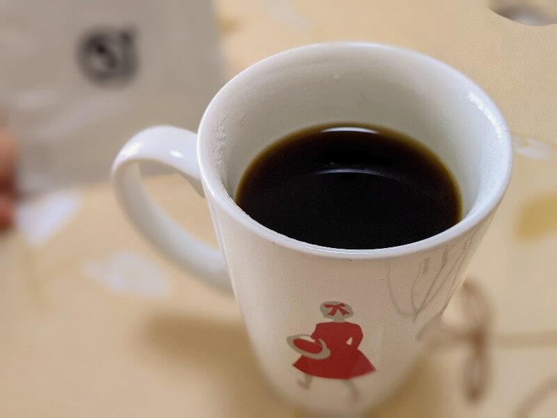 ダカフェ高隆寺店のドリップコーヒー