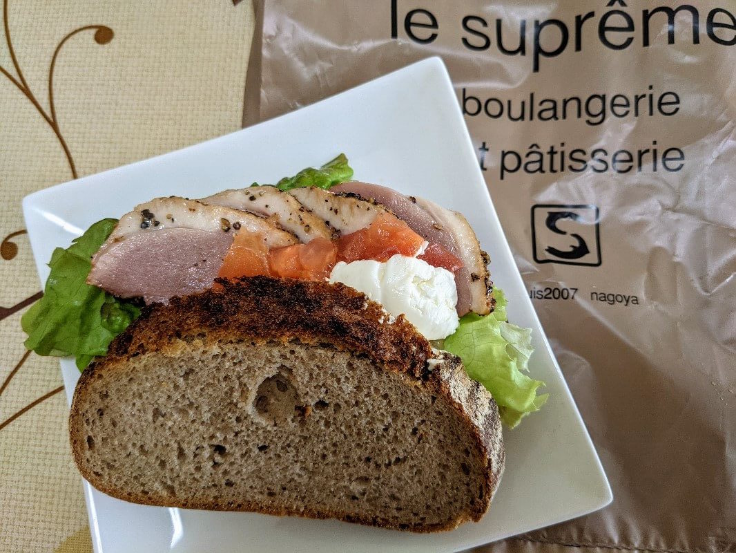 ルシュプレーム(Le Supreme)の合鴨サンド