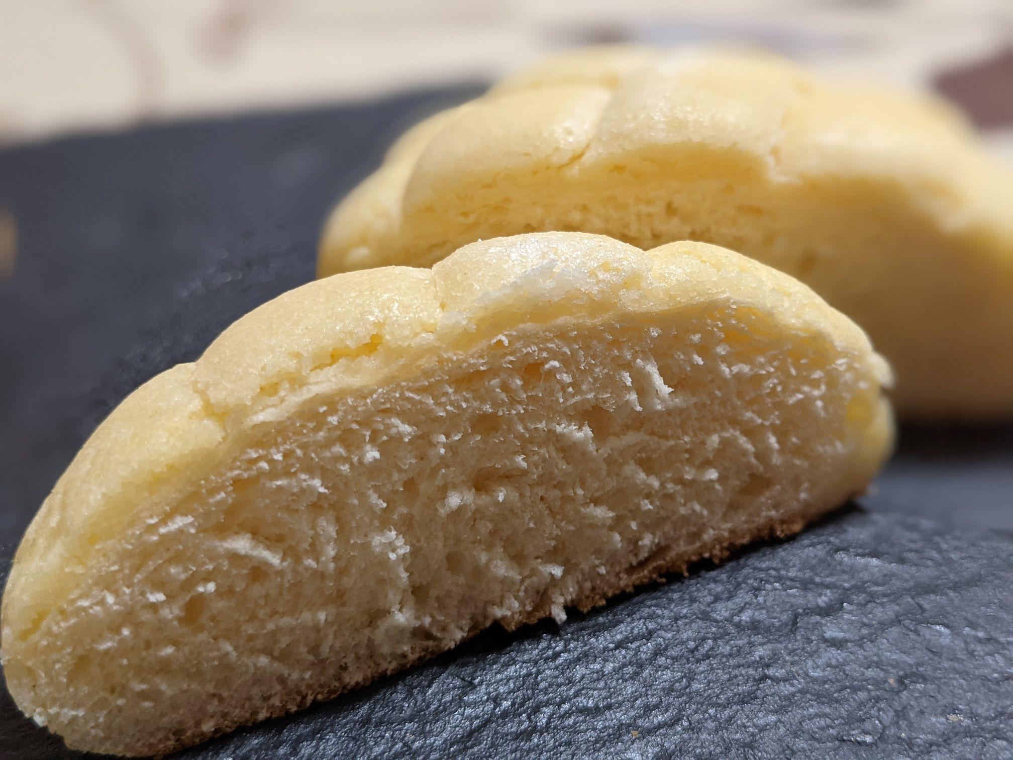 カメリヤのメロンパン