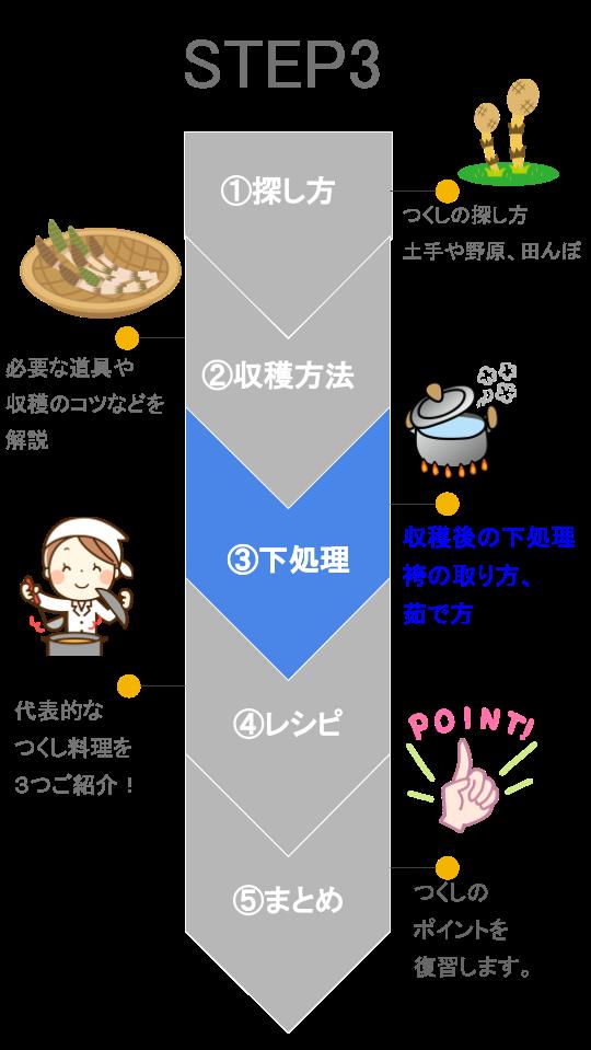 【図解】つくし ステップ3